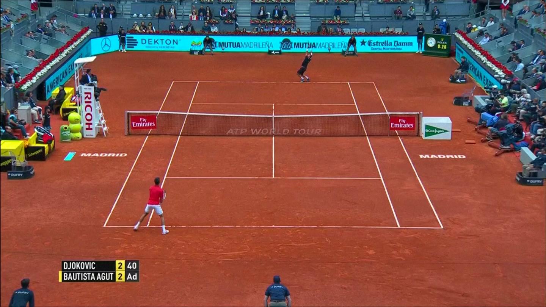 """""""Cánh chim lạ"""" Louisa Chirico vào bán kết Madrid Open"""