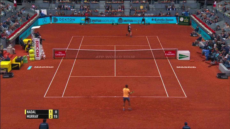 Clip: Thắng Nadal, Murray gặp Djokovic ở chung kết Madrid Masters