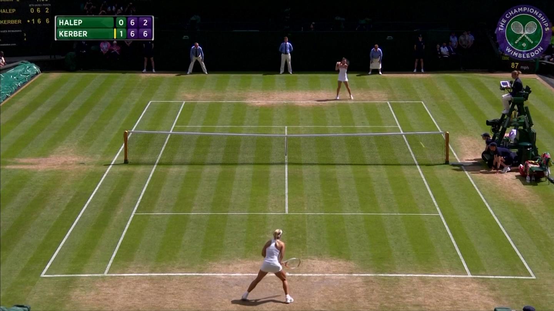 Clip: Wimbledon lần đầu đón Vesnina vào bán kết