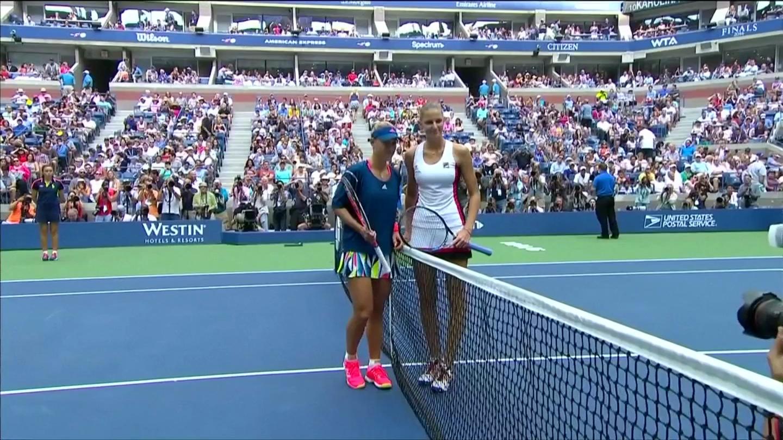 Đánh bại Pliskova, Kerber lần đầu vô địch US Open