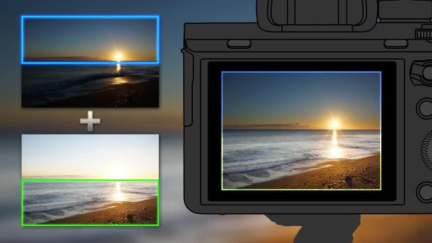 Sony tung ứng dụng Sky HDR thay thế kính lọc