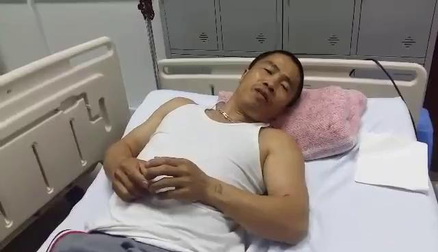 Anh Nguyễn Văn Ngân, một trong số các nạn nhân chia sẻ về vụ nổ xe