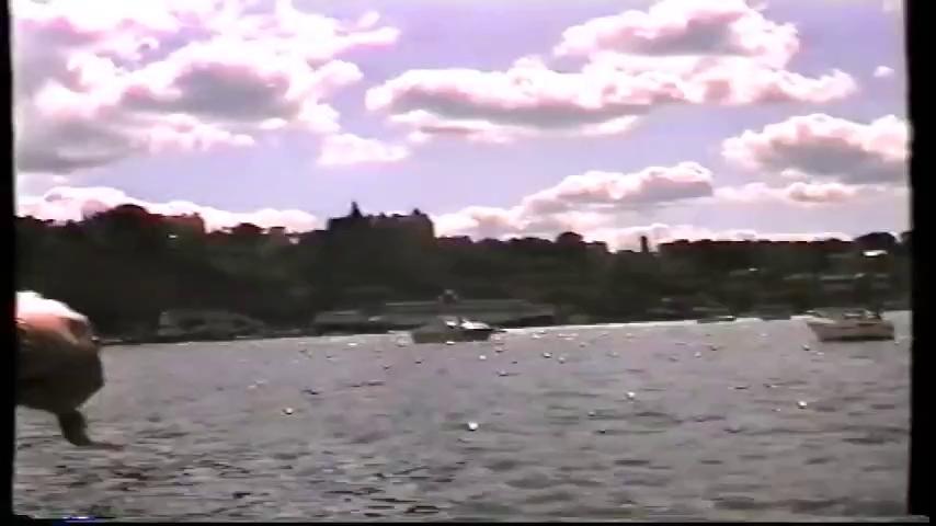 Tiêm kích JAS 39A bị rơi trong khi biểu diễn tại Stockholm Water Festival ngày 8/8/1993