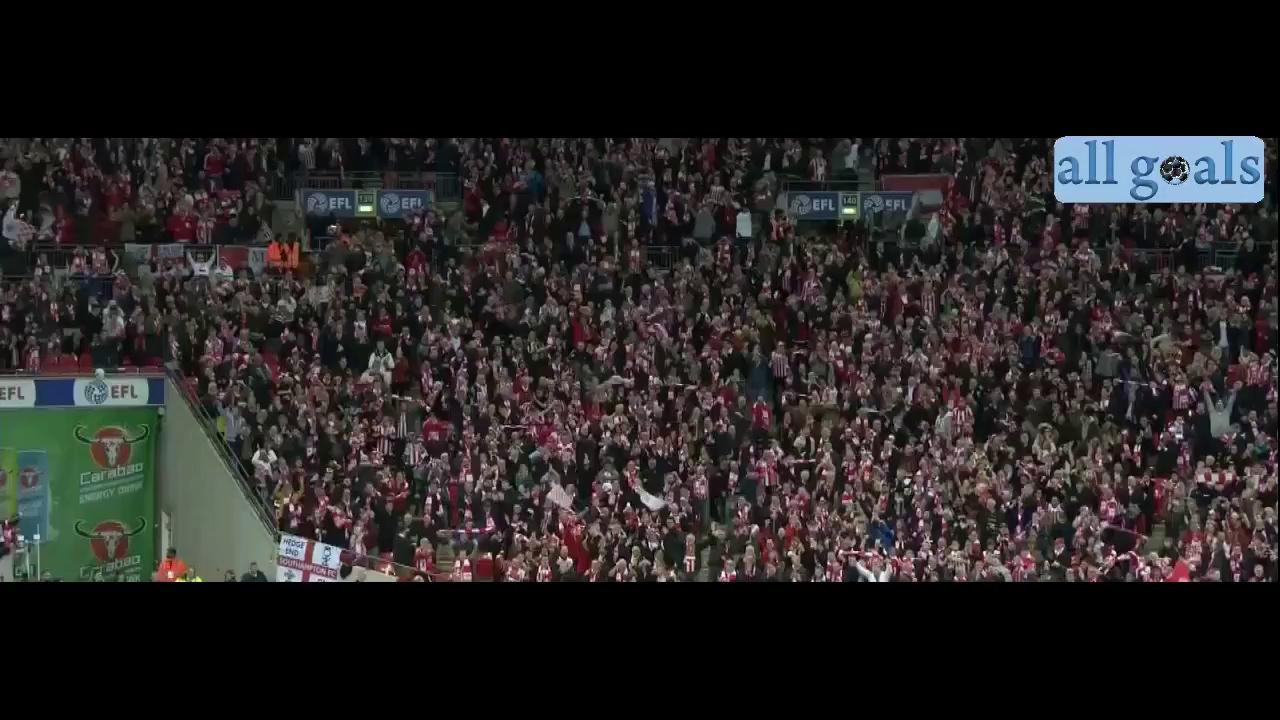 Hai bàn thắng của Manolo Gabbiadini vào lưới Man United