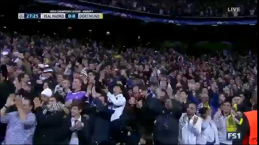 Champions League: Real Madrid 2-2 Borussia Dortmund