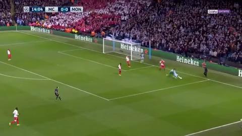 Lượt đi vòng 1/8 Champions League: Man City 5-3 Monaco