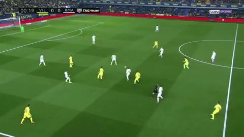 Villarreal 2-3 Real Madrid