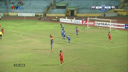 Việt Nam vs Đài Bắc Trung Hoa: Công Phượng gỡ hòa 1-1
