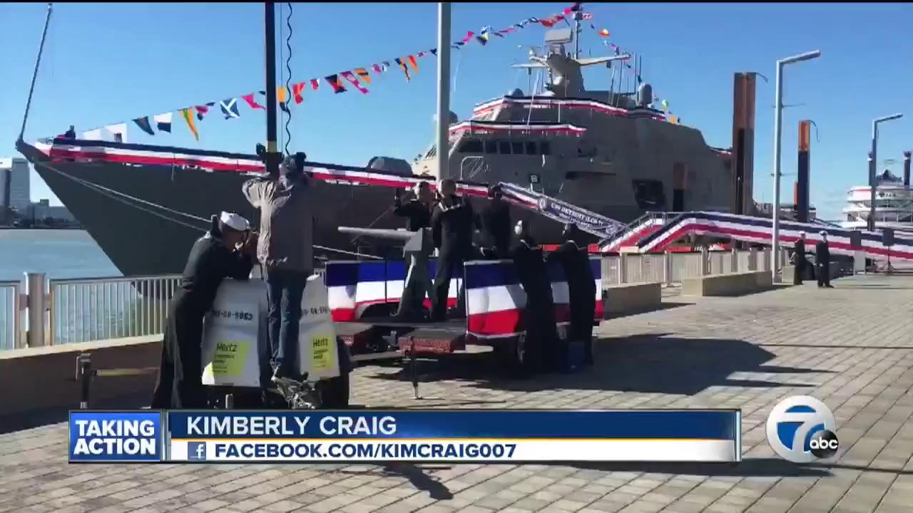 Hải quân Mỹ biên chế chiến hạm USS Detroit