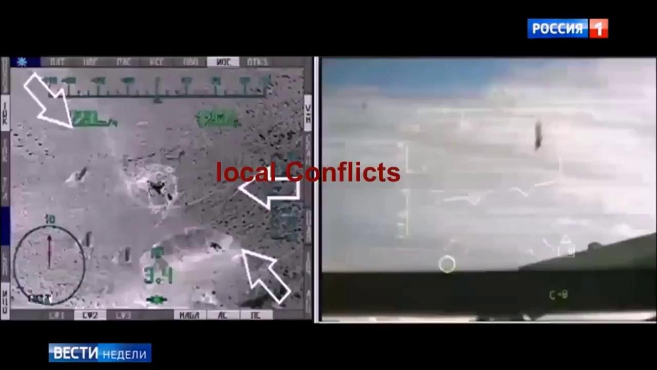 Trực thăng Nga Mi-28 truy sát các tay súng IS trên chiến trường sa mạc Palmyra