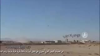 Quân đội Syria tấn công làng Al-Bayarat dưới hỏa lực yểm trợ của trực thăng tấn công Mi-28 và Ka-52 Nga