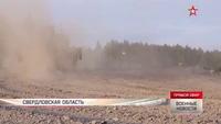 Siêu tăng Amatar của Nga phô diễn uy lực trên trường bắn