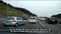 Bài học ứng xử giao thông xứ sở Mặt trời mọc