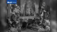 Một đoạn phim câm đen trắng được Hollywood thực hiện ở đầu thế kỷ 20