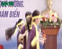 """Cô trò trường THCS Tô Hoàng """"Tiếp sức ngư dân bám biển"""""""