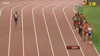 Dừng lại uống nước, Mo Farah vẫn giành Huy chương vàng nội dung 5000 mét