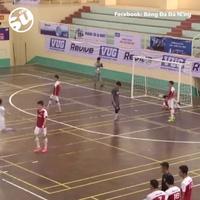 Đoạn clip bàn thắng của Phan Hùng được tờ The Sun đăng tải