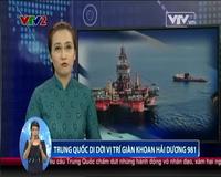 Trung Quốc di dời giàn khoan Hải Dương 981