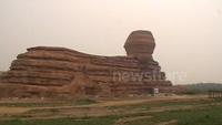 """Trung Quốc """"nhái"""" tượng Nhân sư nổi tiếng của Ai Cập"""