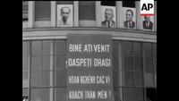 Bác Hồ đến thăm Rumani năm 1957