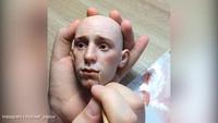 Quá trình tạo hình một con búp bê của Michael Zajkov