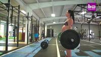 Mang thai 9 tháng vẫn nâng tạ nặng 93kg