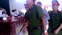 Clip  phiên xử bị cáo Nguyễn Trọng Tường