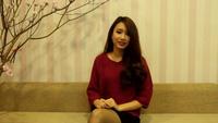 Lời chúc năm mới của Á khôi Minh Hương