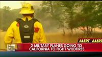 Lính cứu hỏa California vất vả khống chế cháy rừng