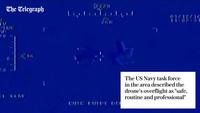 Mỹ công bố video máy bay do thám Iran lượn lờ trên tàu sân bay Truman