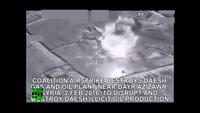 Liên quân không kích san phẳng nhà máy dầu khí của phiến quân IS