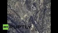 Su-24 của Nga dội bom trung tâm chỉ huy của IS