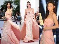 """""""Cô nàng ngổ ngáo"""" Jeon Ji Hyun diện váy hơn 200 triệu đồng"""