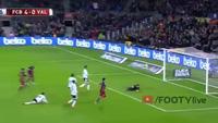 Messi lập công, Barcelona dẫn Valencia 4-0