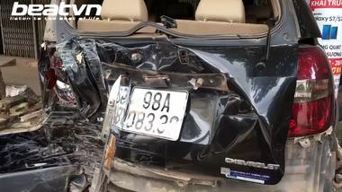 Bắc Giang: Bé trai 13 tuổi lái xe khách 29 chỗ, gây tai nạn liên hoàn