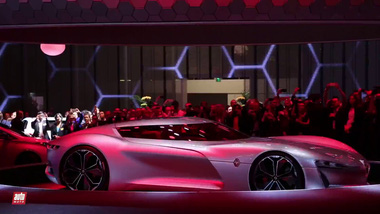 Cận cảnh xế lạ Renault Trezor Concept