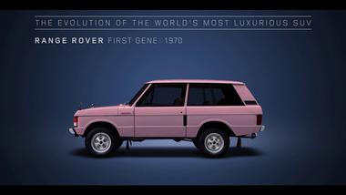 Quá trình tiến hóa trong 48 năm qua của SUV hạng sang Range Rover
