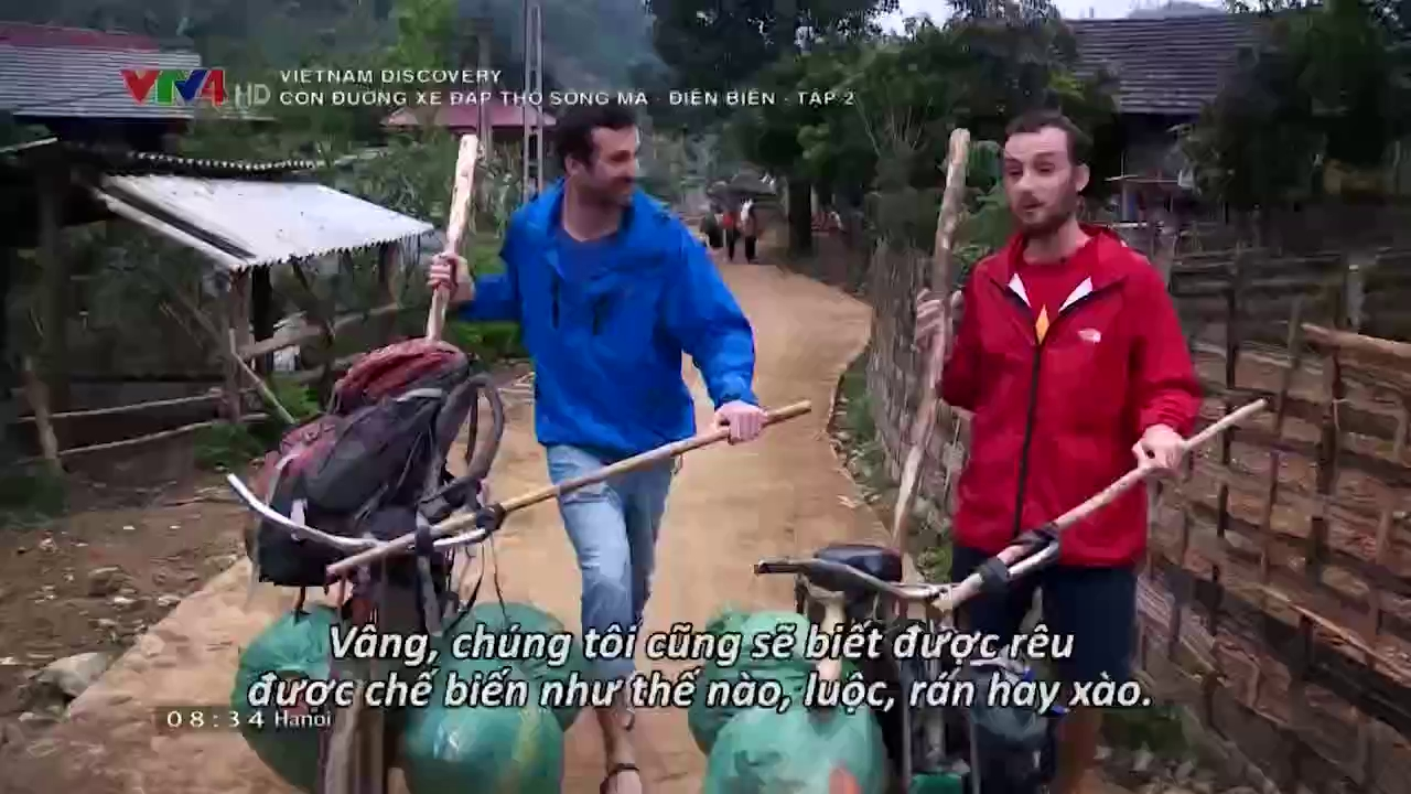 Vietnam Discovery: The road of cargo-loading bicycle from Ma River to Dien Bien - Espisode 2