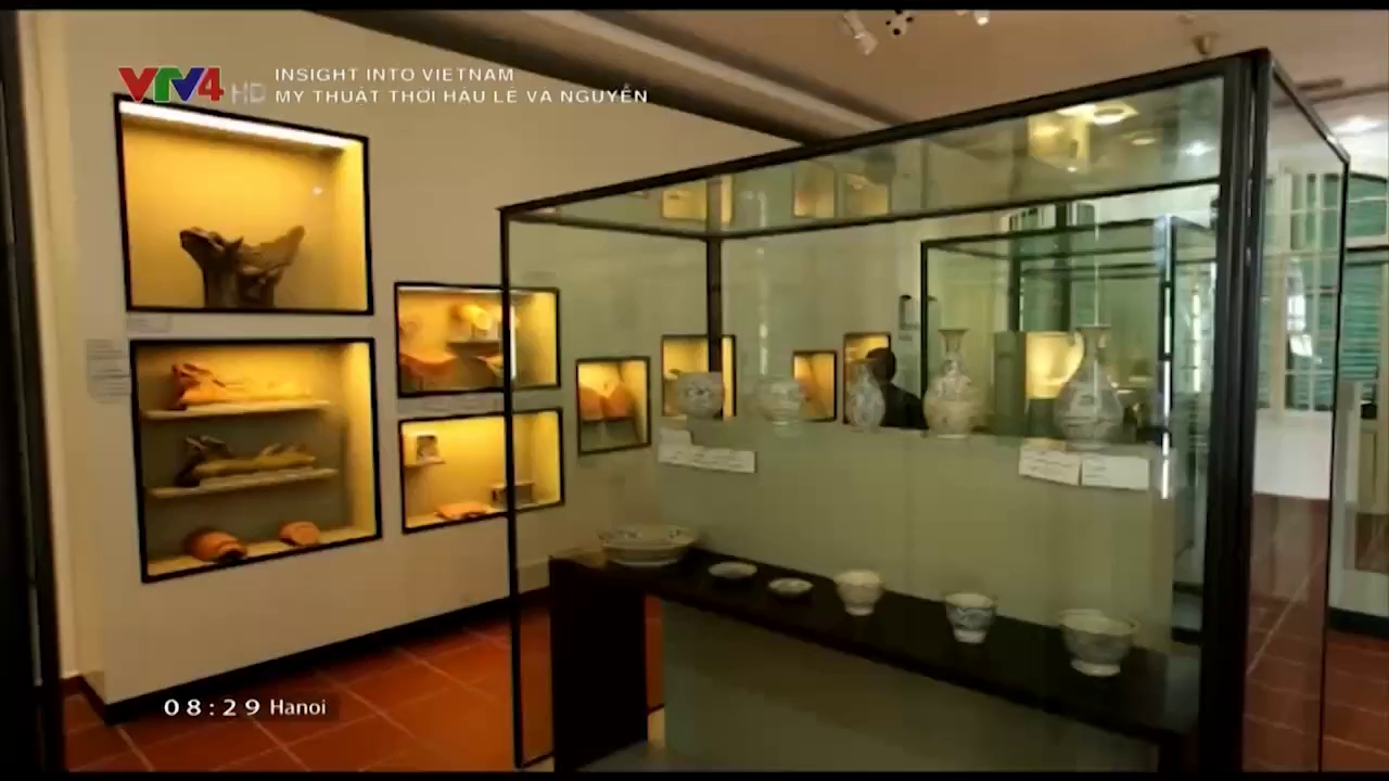 Insight into Vietnam: Art in the period of Later  Le and Nguyen dynasty
