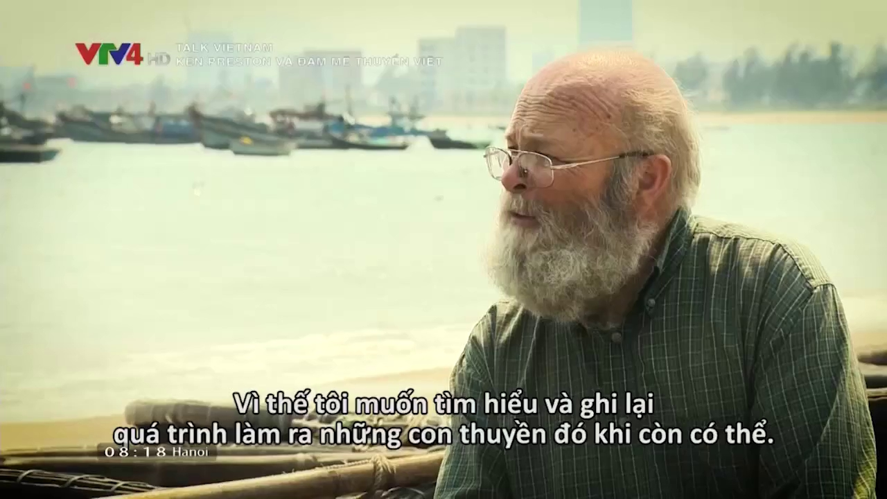 Talk Vietnam: Ken Preston and his passion of Vietnam's boats