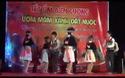 """Tiết mục múa """"Gặp nhau giữa rừng mơ"""" của các em học sinh Trường THPT DTBT THCS Mường Lống."""