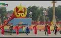 Đoàn diễu binh - diễu hành tiến qua lễ đài