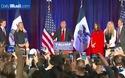 Tỷ phú Donald Trump nhận thất bại trong bầu cử sơ bộ ở Iowa