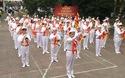 Đội viên Hà Nội biểu diễn mừng 75 năm thành lập Đội TNTP
