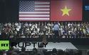 Phần trình diễn ngẫu hứng của rapper Suboi trước Tổng thống Obama