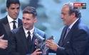Video Messi nhận giải Cầu thủ xuất sắc nhất châu Âu