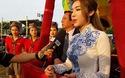 Elly Trần rạng rỡ trong ngày bay khinh khí cầu