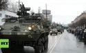 Bốn xe bọc thép Mỹ xuất hiện gần biên giới Nga