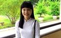 Thí sinh Lê Thị Diệu hát tặng báo Dân trí bài hát trước khi vào thi