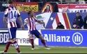 Raul Garcia mở tỉ số vào lưới Real Madrid